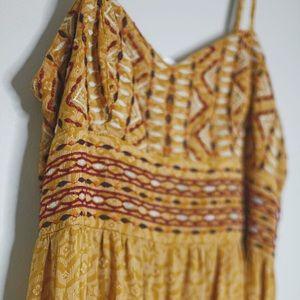 Orange Sundress (Maxi Style)
